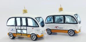 """Christmas Ornament """"Autonomous Electric Bus"""""""