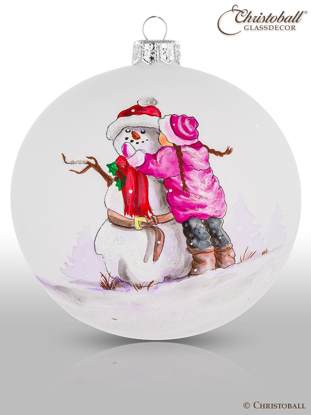 Weihnachtskugel Artist Art