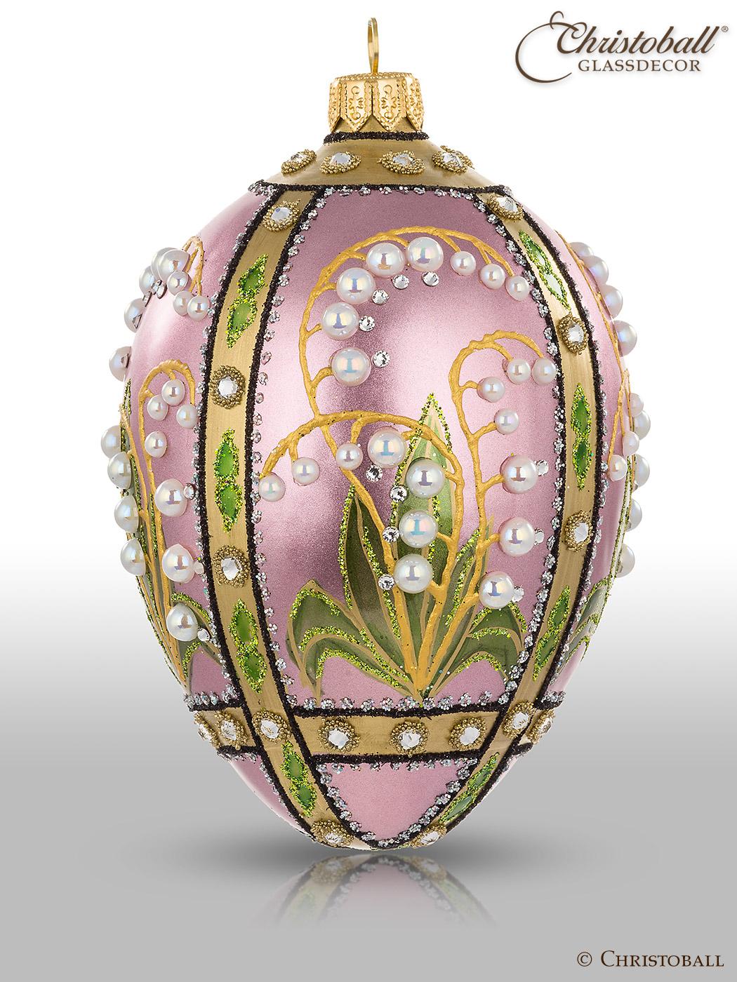 Weihnachstsform Ei à la Fabergé Elena
