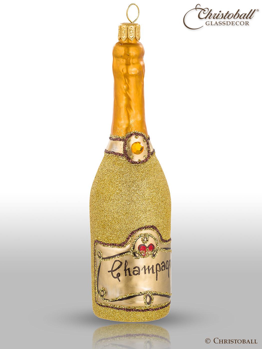 Weihnachtsform Champagner