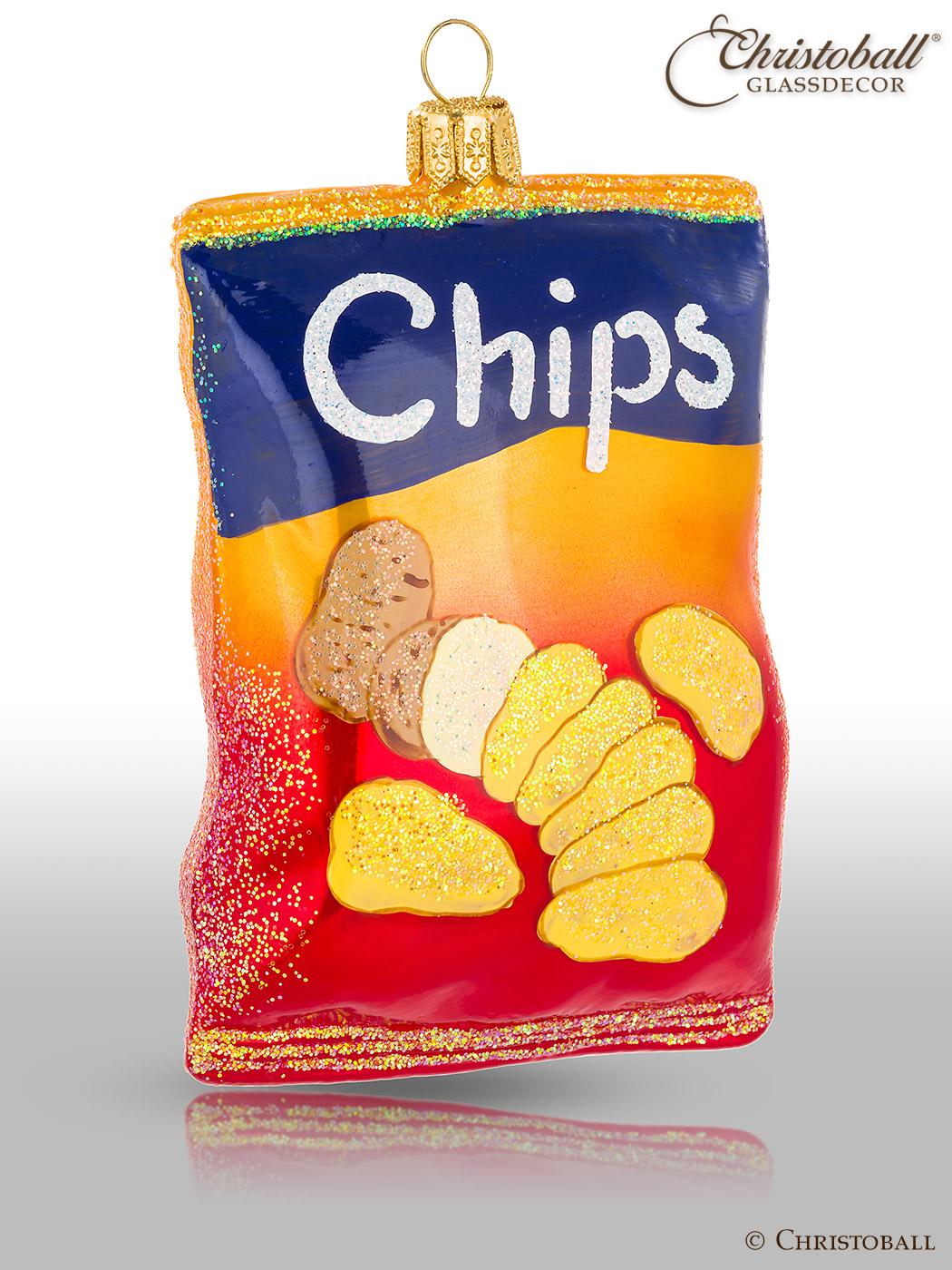 Weihnachtsform Chips